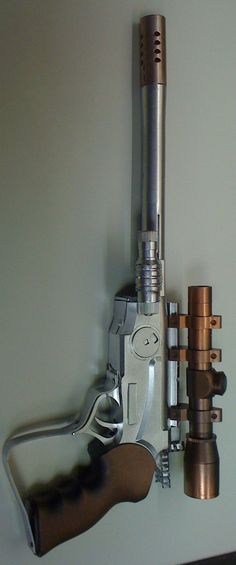 Star Wars blaster pistol 01 - loosely based on a Cad Bane blaster pistol from Clone Wars
