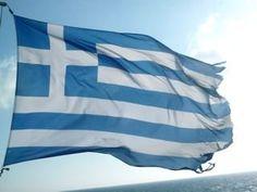 Bandera de Grecia ( Greece ) #banderas #grecia