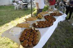 merenda con sbrisolona Stuffed Mushrooms, Vegetables, Food, Stuff Mushrooms, Essen, Vegetable Recipes, Meals, Yemek, Veggies