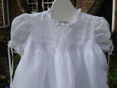 Frilly French Christening Gown - a Debbie Glenn Pattern