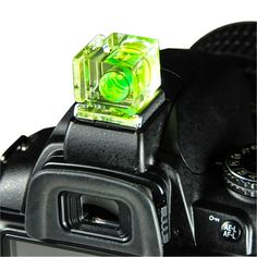 Foto&Tech Hot Shoe Spirit Bubble Level for Canon Nikon Panasonic Fujifilm Olympus Pentax Sigma Dslr/slr/evil/film Camera (One Axis)