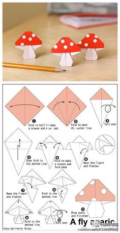 Origami DIY, Origami Crafts for Kids, Free Printable Origami Patterns, Tutorial… diyorigami Origami Diy, Design Origami, Origami And Kirigami, Paper Crafts Origami, Origami Tutorial, Diy Paper, Oragami, Simple Origami, Origami Instructions