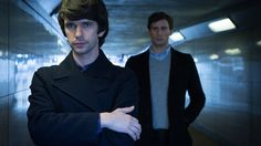 """Ben Whishaw, left, and Edward Holcroft in """"London Spy"""" on BBC America. Netflix Movies, Movie Tv, London Spy, Ben Whishaw, Streaming Tv Shows, Bbc Drama, Bbc Two, Perfect Movie, Charlotte Rampling"""