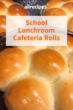 These rolls are JUST like the ones the cafeteria ladies make in the school lunch rooms! They are super easy and everyone will want the recipe. School Yeast Rolls Recipe, Easy Yeast Rolls, Bread Rolls, Lunchroom Rolls Recipe, School Bread Recipe, Sweet Yeast Rolls Recipe, Homemade Yeast Rolls, Dinner Rolls Easy, Sweet Dinner Rolls