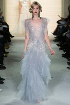 Marchesa Herbst/Winter Ready-to-Wear - Kollektion Couture Mode, Style Couture, Couture Fashion, Runway Fashion, Fashion Week, New York Fashion, Fashion Show, Fashion Design, Marchesa Fashion