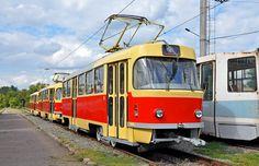 Ex Prague street cars T3SUCS for Krivoj Rog (UA)