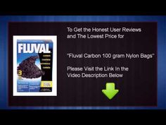Fluval Carbon, 100-gram Nylon Bags – 3-Pack | PetCorridor... Fluval Carbon Filter Media Insert is able to adsorbing most liquified impurities and dyes current in aquarium water. It does no longer include phosphates and won't change the pH of the aquarium water. Fluval carbon is very pure activated carbon that is ideal in both fresh and salt water. The interior matrix structure offers a large porous space that permanently traps organic waste while casting off liquid wastes akin to urine...