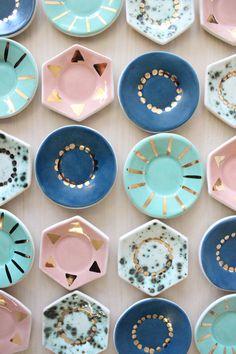 Ceramic Ring Dish - From Baba Souk