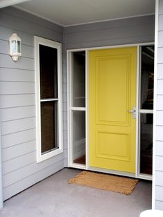 So gonna do this to my front door!