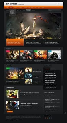 Meaow!!   Game Portal Drupal Template CLICK HERE! live demo  http://cattemplate.com/template/?go=2dJsHQG