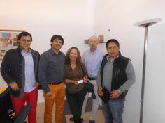 Daniel Wainmann y su esposa Sara Roitman Photography nos visitaron conjuntamente con el arquitecto Marlon Espinoza para conocer sobre los nuevos avances en tecnología Lutron los mismos que van a ser implementados en su hogar