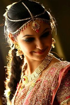 Bengali bride. She's beautiful. Find local  photography lessons at [EducatorHub.com]