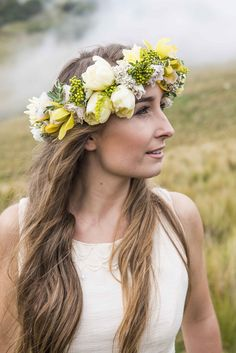 Mystical Bridal Inspiration in the Port Hills (including a must see floral crown!) Click through to see the full post!