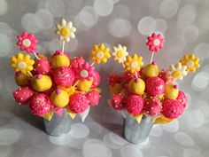 Any occasion cake pops!! :)  These are soo damn cute, and you could use ANY different colors for any different time of the year! :)