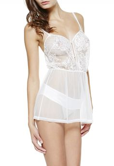LA PERLA   BABY DOLL AVEC SLIP #laperlalingerie #lingerie