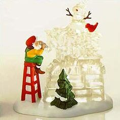 """Department 56: Products - """"A Busy Elf"""" North Pole Sign - View Accessories"""
