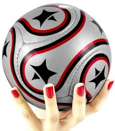 Kids Mini Football Color Availability :Silver Size : Radius 46cm  Type :Kids Mini Football