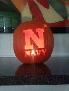 Navy Athletic Pumpkins!