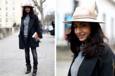 Un joli style à chapeau (c'est lui qui fait le look, avouons-le)