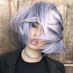 Metallic texture  @kenraprofessional on prelighten hair  Formula one: 7sm Demi  and one inch blue booster in zone one  Formula two: 8sm Demi and 3 inch Violet booster zone 2  formula three: 10sm Demi  and two dots of red booster zone 3