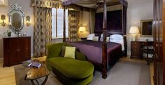 Chester Grosvenor.... One of the rooms at the hotel! :)