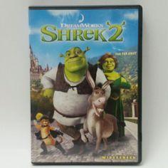 Shrek 2 Movie (DVD, 2004, Widescreen), Dreamworks #DisneyMovie #Shrek2
