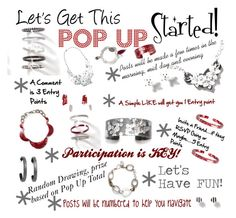 """""""Let's Get This Pop Up Started! CST Corrected"""" by crrynnugent on Polyvore"""