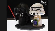 Star Wars cake toper