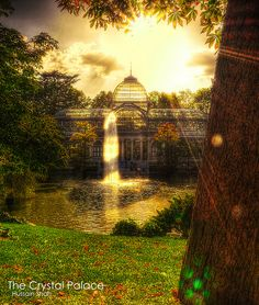 The Crystal Palace - Retiro Park in  Madrid, Spain