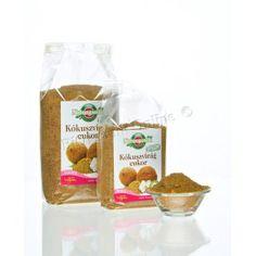 KOKOSOVÝ CUKOR je vyrábaný z nektára kvetov kokosovej palmy. Má nezameniteľnú jemnú karamelovú chuť.  Pri výrobe sa kokosový cukor nebieli a ani nerafinuje. Svojou sladkosťou sa približne vyrovná klasickému krištáľovému cukru, akurát že jeho glykemický index (GI) je oveľa nižší, iba 35.Môžeme ním v plnej miere nahradiť klasický krištáľový cukor.