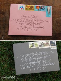 nothing is better than getting a good old-fashioned letter, complete with beautiful penmanship :)