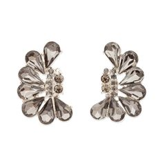 Braelyn Earrings teardrop shaped crystals fan out beautifully and are sure to brighten up your ensemble.