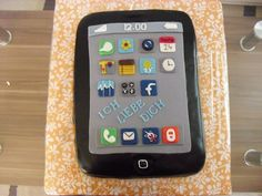 Great Bakery - An iPhone cake. It tastes good and looks like the real thing !  http://www.facebook.com/pages/Nices-Cake/395826020432047
