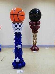 Diy Hot Air Balloons, Balloon Columns, Balloon Decorations, Holidays And Events, Diy Crafts, Ideas, Party, Columns, Balloon Tree