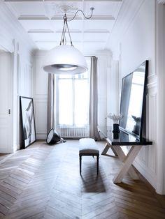 Byt architektů Patricka Gillese a Dorothée Boissier v Paříži.
