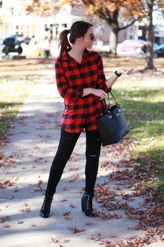 Buffalo Plaid By Fashionably Kay