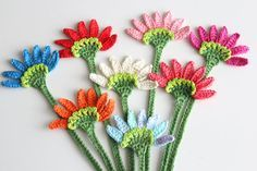 Flower bookmark, Handmade crochet bookmark, Book accessories, Crochet gifts, Unique Bookmark