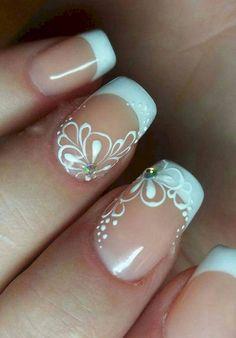 Favorite wedding nail art designs ideas (8)