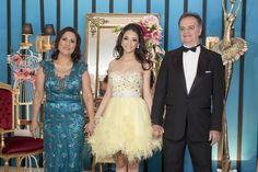 Festa-tema-bailarina-15-anos-vestido-com-plumas-debutante
