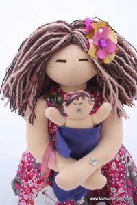 {Image of VBAC Birthing and Breastfeeding MamAmor doll - AVALON}