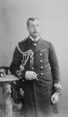 Evolution of a royal beard. antiqueroyals: King George V