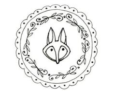 Fox Hand Embroidery Pattern Printable Woodland Animal Digital Downloadable Download