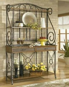 Old Sweeer Cottage Bakers Rack