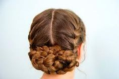 How to do Katniss Reaping Braid Hair style with step by step