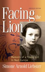 Facing the Lion is the autobiographical account of a young girl's faith and courage. Set during the Nazi occupation of Eastern France, it tells the story of one 12-year-old's struggle to follow her conscience rather than give in to Nazi propaganda and persecution.