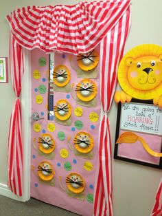 Back to school carnival theme at Temple Preschool New Bern, NC