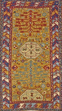 Kazak rug, southwest Caucasus, late 19th century, approximately 6ft. x 10ft. US$5,500-6,500