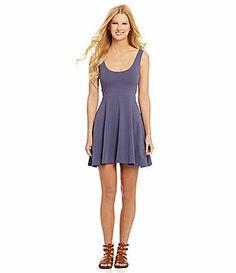 Angie Knit Skater Dress #Dillards