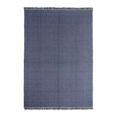 IKEA FASTERHOLT Rug, flatwoven Handmade dark blue 170x240 cm Handwoven by skilled craftspeople, and therefore unique.
