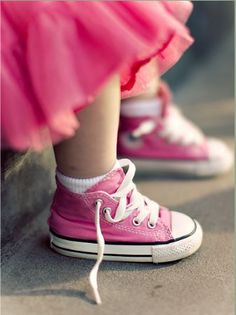 emily's converse by ~pepapigo  #pink #color #colours